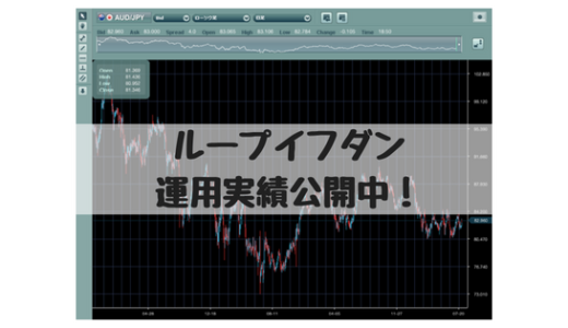 【FX自動売買】ループイフダン運用4週目、NZD/JPY、AUD/JPY運用中。前週比+1608円、評価損益-16,279円です。