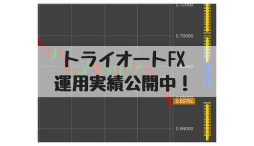 【トライオートFX実績】2018/10/8週、運用13週目運用実績、決済益+3,326円です。